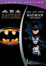 BATMAN / BATMAN RETURNS Double Feature DVD Michael Keaton