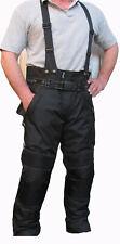 Motorrad Hose Cordura Schwarz Motorradhose mit Hosenträger Gr 6 XL 7 XL 8 XL