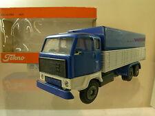 TEKNO HOLLAND 425 VOLVO F89 TRUCK COLOUR BLUE-WHITE+ BOX SCALE 1:50
