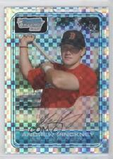 2006 Bowman Chrome Prospects X-Fractor BC184 Andrew Pinckney Boston Red Sox Card