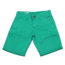 0255T bermuda bimbo  SUN 68 cotone verde short pant kid