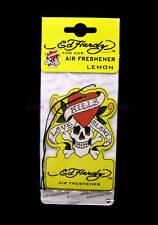 ED HARDY LEMON FRESH SCENT FRAGRANCE CAR AIR FRESHENER