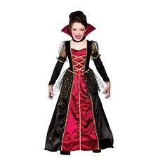 Niños Niñas Princesa Vampira Halloween Horror Miedo Fancy Dress Costume New