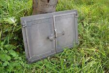 475 x 325mm Couleur Neuf Porte de four à pizza, poêle à bois, Fonte Fumoir ZEb20