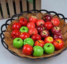 20pcs/Bag Artifical Fruit Decor Mini Fake Plastic Puzzle Toy Vegetable Home