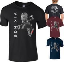 Vikingos Camiseta Ragnar Lothbrok Lagertha Rollo World Tour Floki Top Hombres Damas