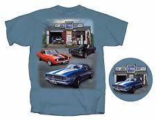Super Chevrolet Service Chevy Camaro Nova Chevelle GM Garage Men's T-Shirt~New