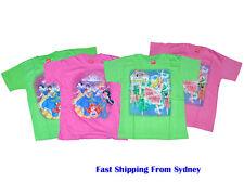 New Girl Tees T-Shirt  Cartoon Princess Print