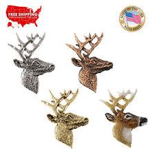 Lapel Pin or Magnet, M007Pr Creative Pewter Designs Whitetail Deer Premium