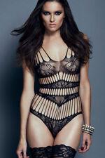 Black Teddy Body Soft Exotic Sleepwear Underwear Quality Sexy Lingerie 8 to16