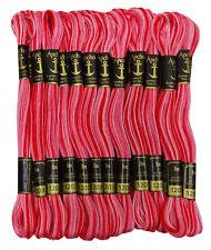 Anchor double ombre brin coton point de croix broderie a la main fil soie 25