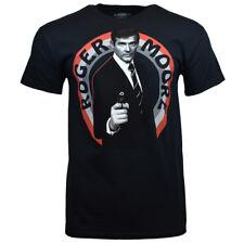 007 James Bond Men's T-shirt - Roger Moore - MI6 Agent - Spy Undercover Movies