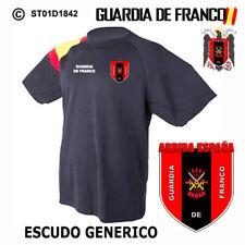 CAMISETAS TECNICAS: GUARDIA DE FRANCO M2 / ESCUDO GENERICO M1