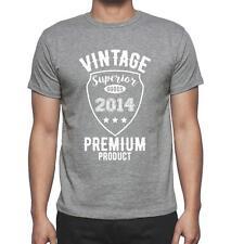 Vintage Superior 2014 Tshirt, Col Rond Homme T-shirt, couleur gris, Cadeau T-Shi