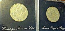 ==>> 500 Francs Frank 1980 Belgique Belgïe Argent Silver Zilver KM# 161a <<==