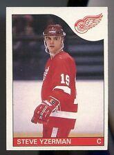 1985 85/86 OPC O-Pee-Chee Steve Yzerman Red Wings #29
