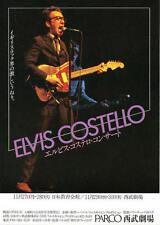 Elvis Costello Japan November 1978 Org Concert Handbill