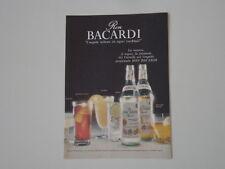 advertising Pubblicità 1968 BACARDI RON RUM RHUM