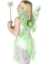 Childrens Fairy Wings + Wand Kids Fairytale Fancy Dress Accessory