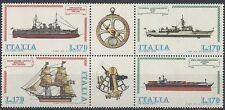 1978 ITALIA BLOCCO NAVI MNH **  - ED2