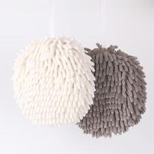 Microfiber Chenille Hanging Hand Dryer Balls Convenient Absorbent Hand Towel MA