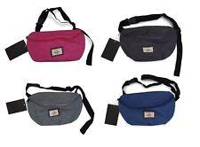 1 x bolsa de Correa rinñonera Riñonera Bolsa Doggy Bolsa Negro Gris Rosa Azul