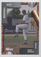 1992 Fleer ProCards Minor League #395 Marshall Boze Beloit Brewers Baseball Card