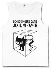 SCHRÖDINGERS CAT IS ALIVE DEAD I TANK TOP The Big Schroedinger Bang Theory Katze