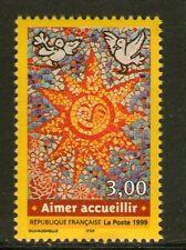 TIMBRE 3255 NEUF XX LUXE  - TIMBRE AIMER ACCUEILLIR ! - SOLEIL - MOSAIQUE