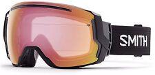 SMITH SAMPLE MEN'S ASIAN FIT I/O 7 SKI SNOWBOARD GOGGLE BLACK/ PHOTO RED SENSOR