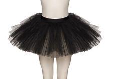 Black Premium Halloween Fancy Dress Black Swan Ballet Tutu Skirt Sizes By Katz