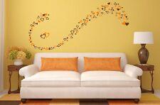 60 Various Hearts Shape Bedroom Living Room Wall Art Window Stickers Kids Decals