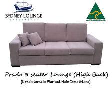 Brand New - AUS MADE Prado High Back (Warwick Como) 3 seater Sofa Lounge Couch
