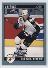 1992-93 Score Canadian #271 Mike Craig Minnesota North Stars Hockey Card