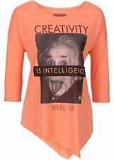Camiseta para Señoras con Einstein-Print, 163777 In Salmón