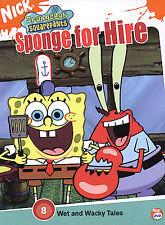 SpongeBob SquarePants: Sponge for Hire DVD Region 1 / New and Sealed