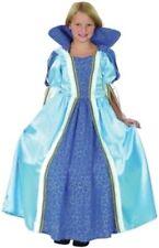 Costume Bleu Filles Princesse 4-11 Ans