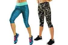 Crivit® Damen Funktionscapri Laufhose Hose Capri Fitness Sport Kleidung Neu