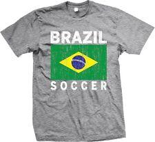 Brasil Brazil Brazilian Flag Soccer Ethnic Pride World Cup - Men's T-shirt