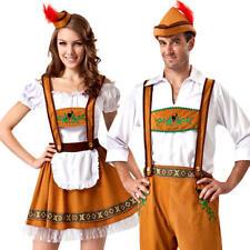 Oktoberfest Bavarian Adults Fancy Dress German Beer Ladies Women Mens Costume