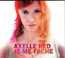 MAXI CD DIGIPACK COLLECTOR AXELLE RED JE ME FACHE 1T DE 2002 NEUF !!!!
