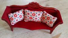 Sofakissen für Puppenhaus Puppenstube Wendekissen 1:12 Schuleinführung Schultüte