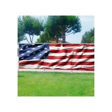 Brise vue déco imprimé pour jardin, balcon ou terrasse Drapeau américain 3690