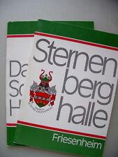 2 Hefte Friesenheim Sternenberghalle  + Schlößle in Heiligenzell