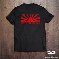 86 Racers Japan T-Shirt JDM Rising Sun Flag Drift Car Themed Tee | Birthday Gift