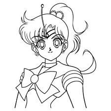 Sailor Moon Jupiter Sticker Decal for Macbook Laptop Car Window SUV Wall Decor