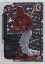 2015 Bowman Silver Ice #145 Xavier Scruggs St. Louis Cardinals Baseball Card