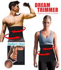 WAIST TRIMMER SLIMMING EXERCISE BELT FAT BURNER  WITH SILVER  REFLECTIVE COATING