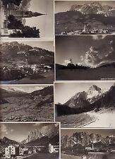 #CORTINA D'AMPEZZO: 8 fotocartoline DEL  1912 circa