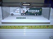 Matchbox 1/80 SuperStar Trucks in Plexiglas Case Miller Budweiser Kodiak New Bxd